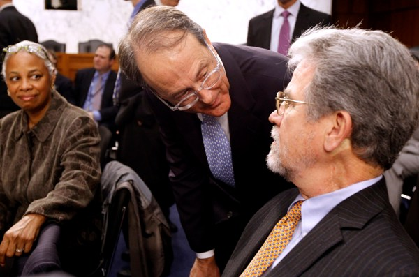 Erskine Bowles leans into Tom Coburn