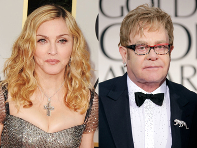 Elton John Slams Madonna: 'Her Career Is Over'