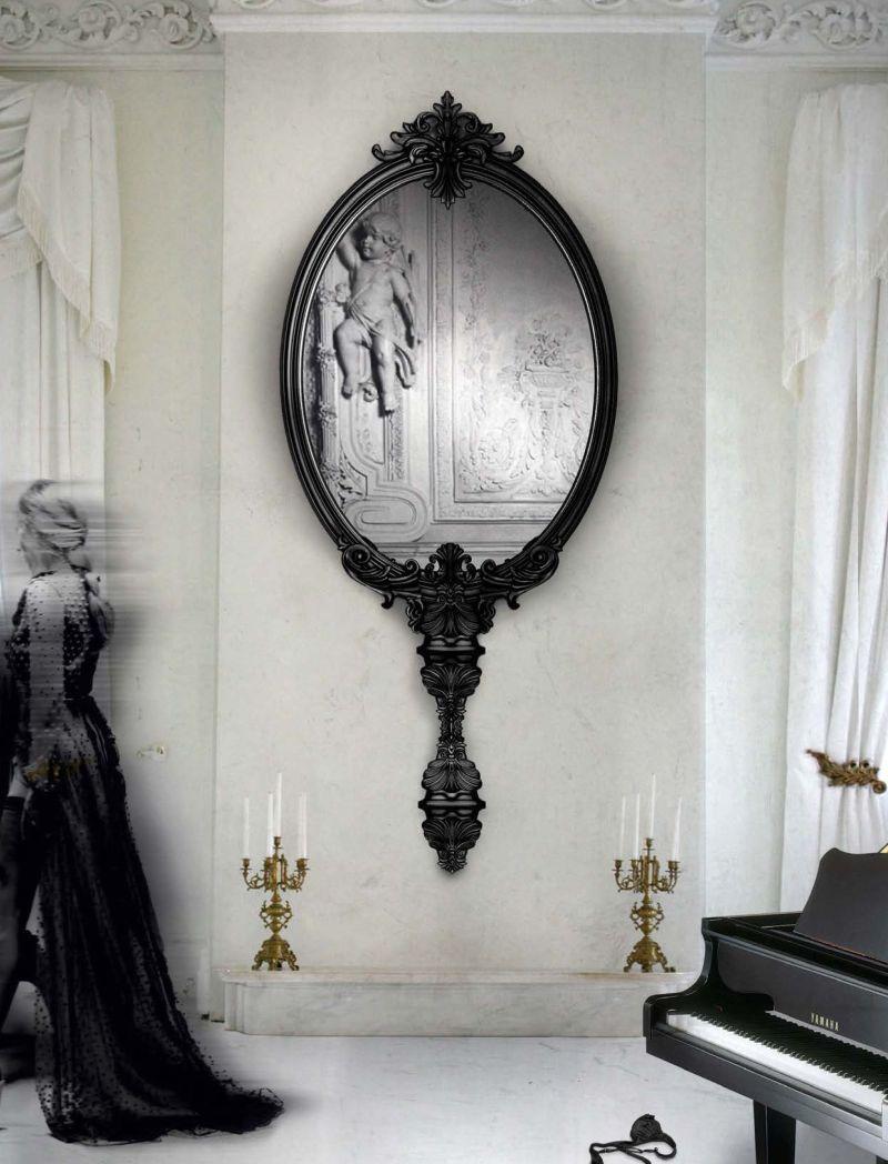 Claves para colocar bien los espejos de tu casa for Espejos redondos salon