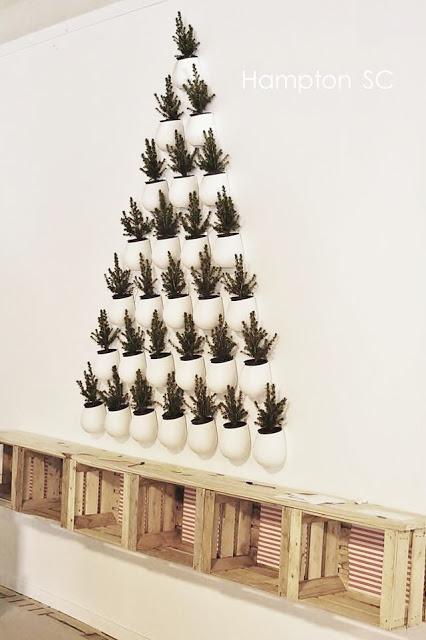 Lo ltimo en decoraci n navide a rboles de pared - Lo ultimo en decoracion de paredes ...