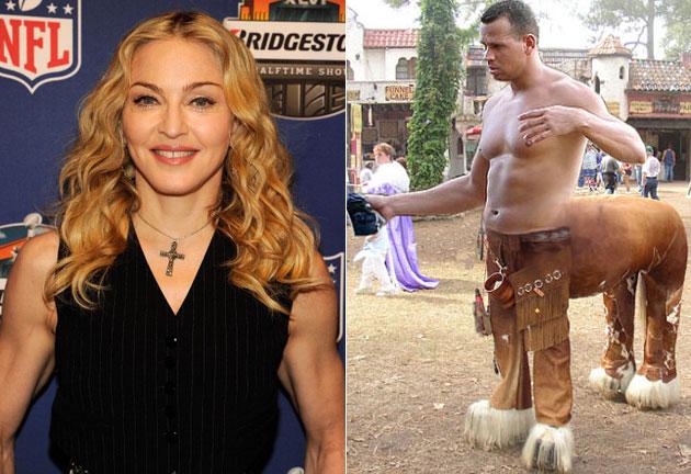 Madonna cannot confirm A-Rod's centaur painting - Big ...