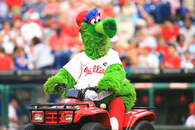 Philly Phanatic Friends Phillie Phanatic Sued