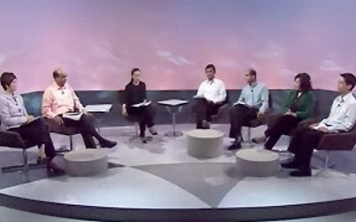 ... debate on challenges facing Singapore. (CNA screenshot