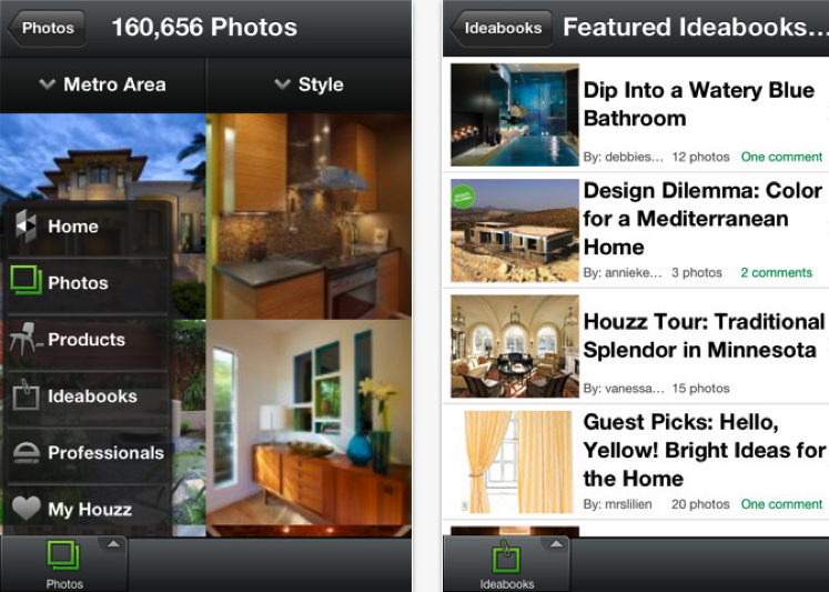 The best property apps redux Houzz design app