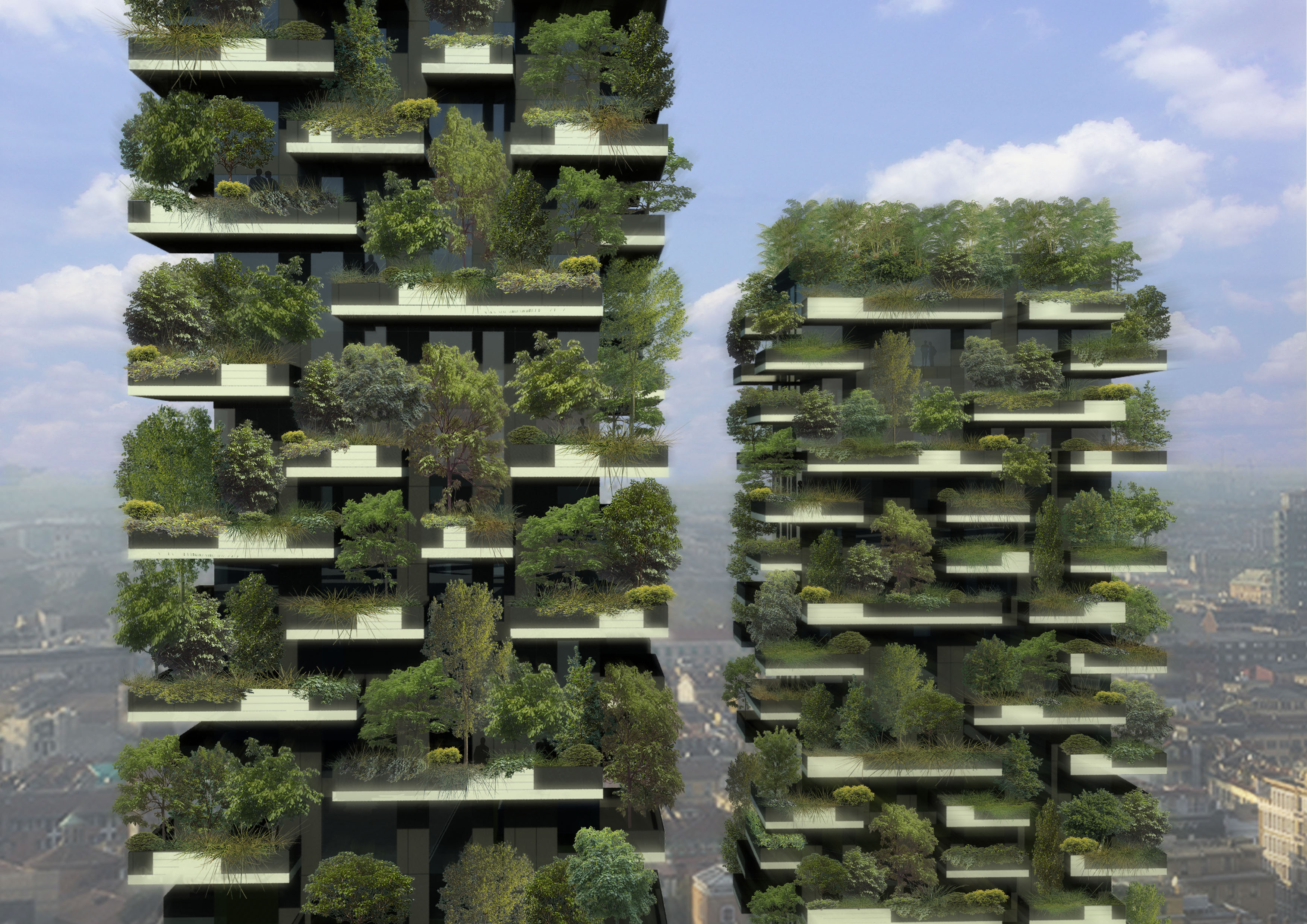 vertical forest skyscrapers coming to milan. Black Bedroom Furniture Sets. Home Design Ideas
