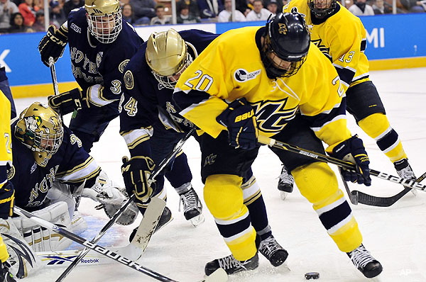 NCAA HOCKEY: How Michigan won the West; Duluth advances - Puck ...