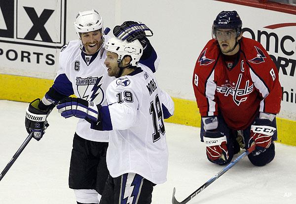 Bolts Beat 'hockey Machine' As Boudreau Bemoans 'river Hockey'