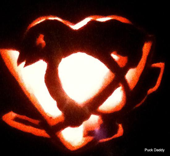 Penguin Pumpkin Carving Pittsburgh Penguins Pumpkin