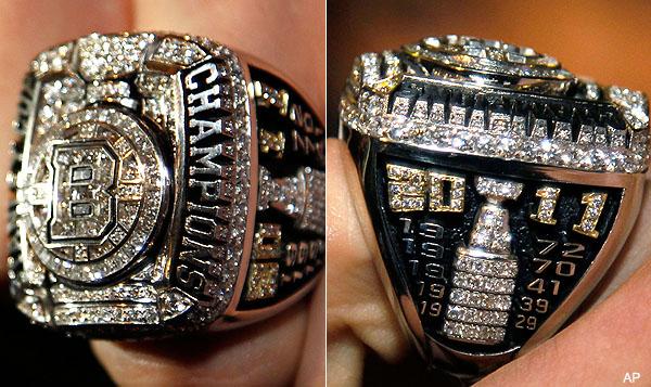 Boston Stanley Cup Rings