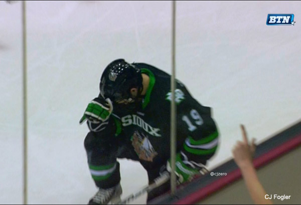 WCHA: More Bad News For Goal-challenged UND, Rocco Grimaldi Out For 6-8 Weeks