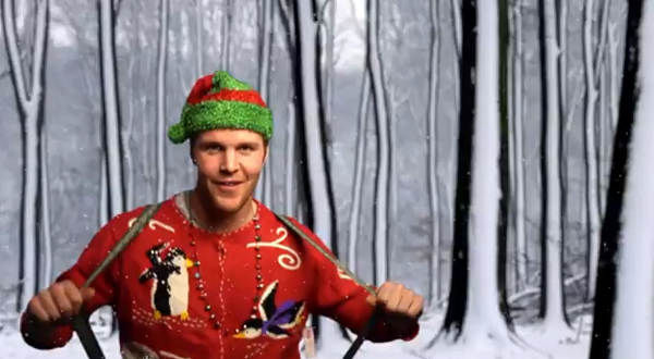 the ten best moments in the chicago blackhawks holiday video - Blackhawks Christmas
