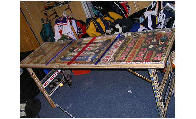 Hockey Stick Coffee Table Plans San Plans