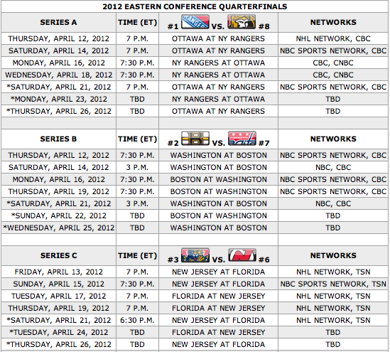 sports/ stanley cup round 3 schedule