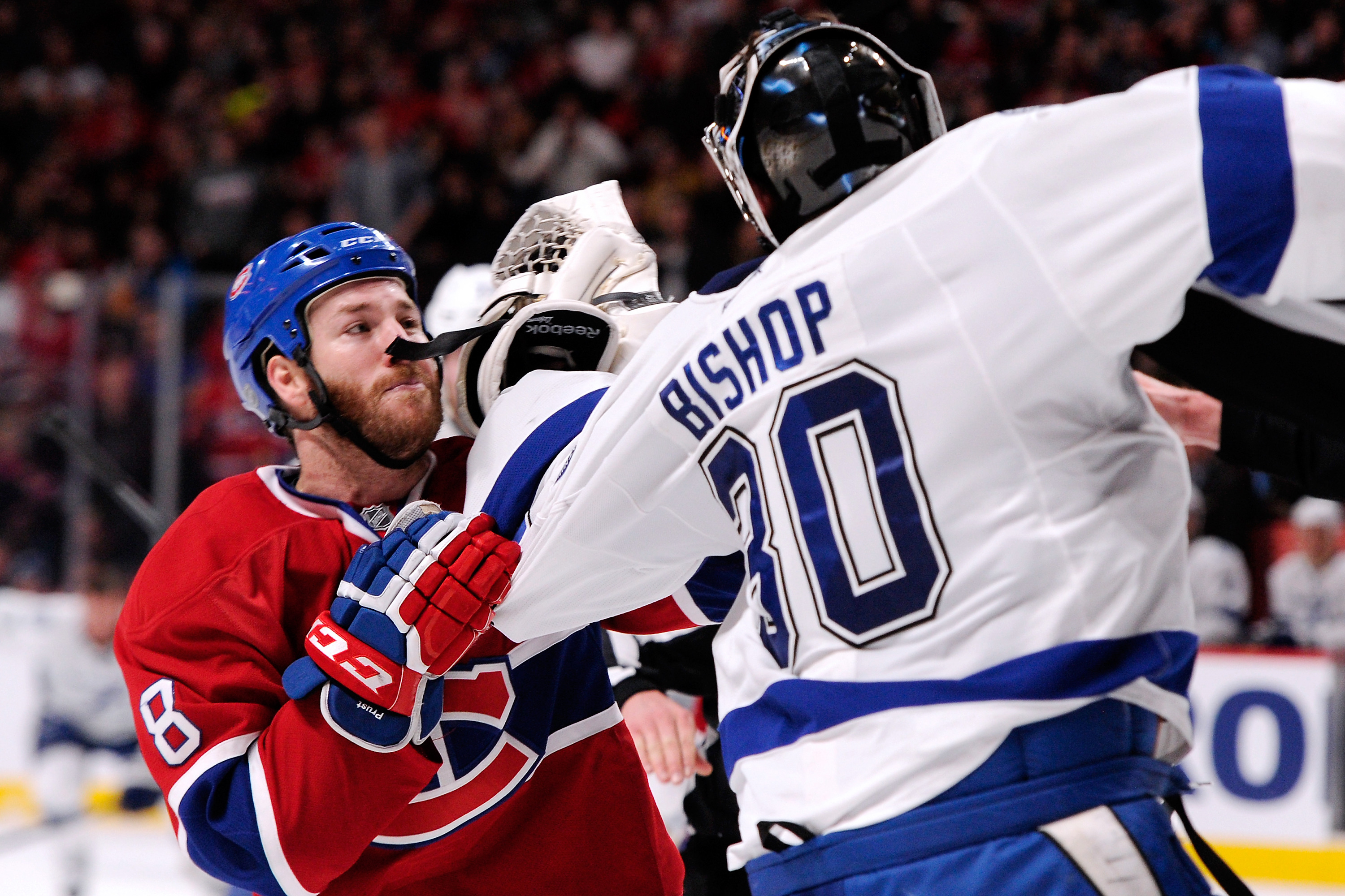 Ben Bishop, Brandon Prust debate meaning of life on ice and it …