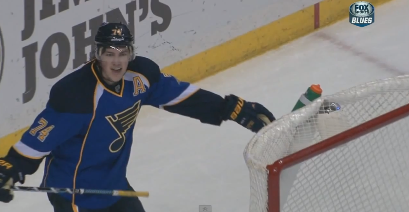 T.J. Oshie's goal fools everyone, except T.J. Oshie (Video)