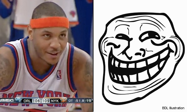 carmelo anthony tattoos left arm. As if Anthony#39;s intent wasn#39;t