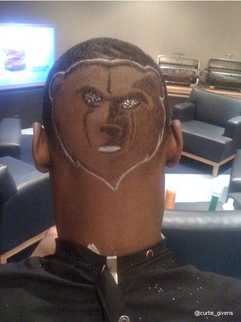 Image result for Tony Allen memphis grizzlies bad haircut
