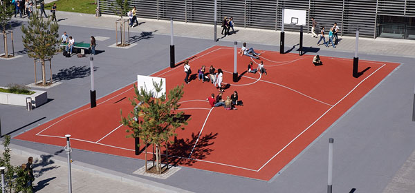 Coolest Basketball Courts craziest basketball court