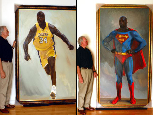 Basketball Oil Painting Life-size Oil Paintings of
