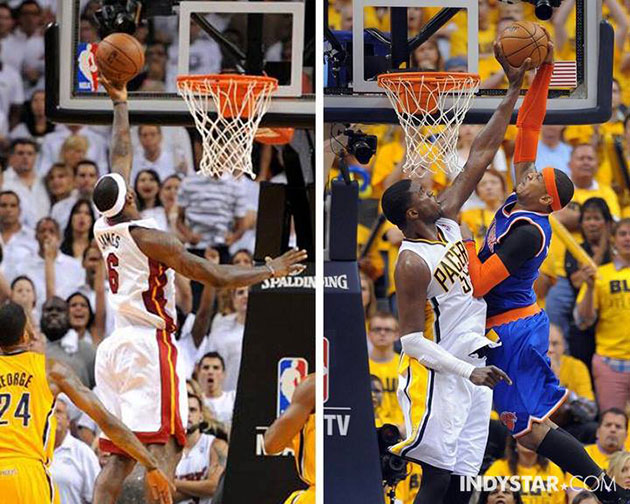 The difference between Roy Hibbert playing and Roy Hibbert sitt…