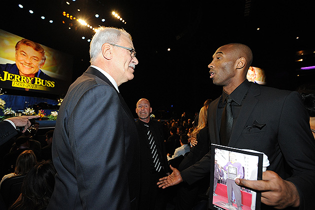 Phil Jackson on Kobe Bryant's contract extension: 'They paid hi…