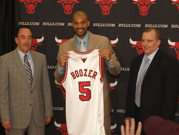 Bulls GM Gar Forman wishes Carlos Boozer would have kept playin…