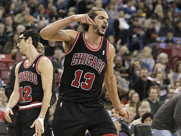 Joakim Noah had some choice, and very bad, words for refs after…