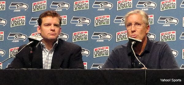 Second-year Seahawks front office far more tuned in - Shutdown Corner ...