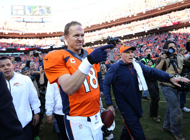 Surprise, surprise: Peyton Manning wins record fifth MVP award