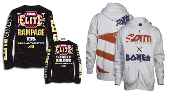 MMA Marketplace: Battle of the UFC 135 walkout shirts