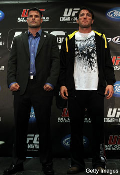 Sonnen vs. Stann: Chael?s making ?the first defense of his middleweight title?