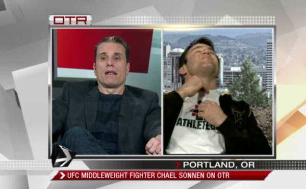 TV gold: 'Angry' Sonnen walks off Canadian talk show