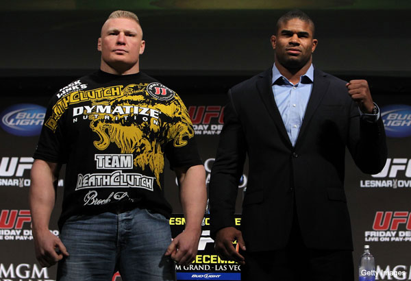 Alistair Overeem is in for UFC 141, but still fighting battle against rumor mill