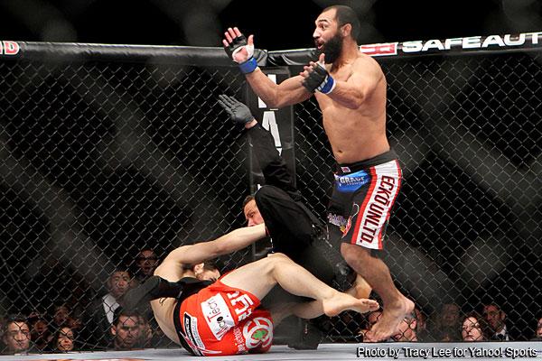 UFC 141 stunner: Johny Hendricks wallops Jon Fitch in just 12 seconds
