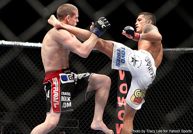 Following every ufc and strikeforce event, the mma corner will break down the event and suggest fights the promotion