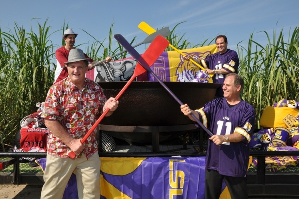 LSU and Alabama to bond over a giant pot of gumbo for a good cause