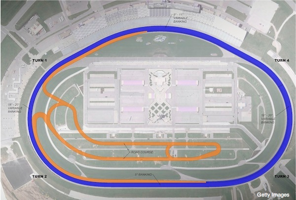 Kansas Speedway To Repave And Reconfigure In 2012 From