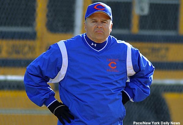 Benjamin Cardozo baseball coach Ron Gorecki