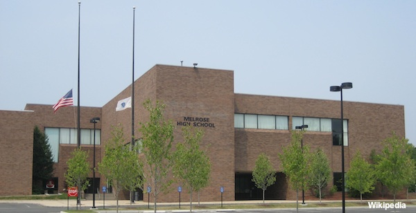 Melrose High School in Melrose, Massachusetts