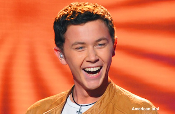 Garner pitcher Scotty McCreery performs on American Idol