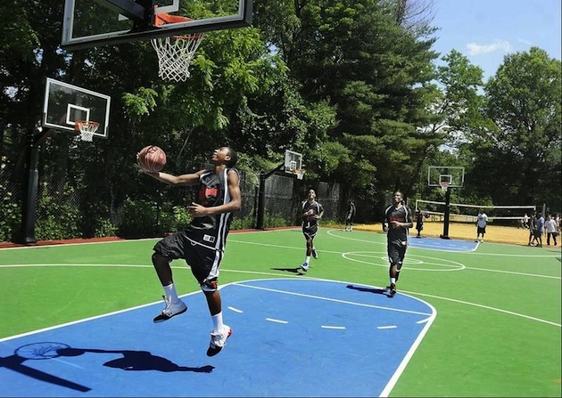 Basketball courts prep rally high school blog yahoo sports