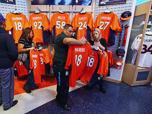 might have a new best-seller at the Broncos team shop (Getty Images