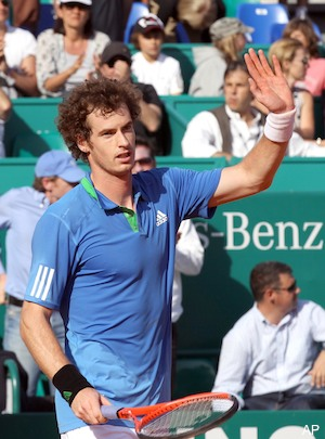 andy murray hair. Andy Murray, Monte Carlo
