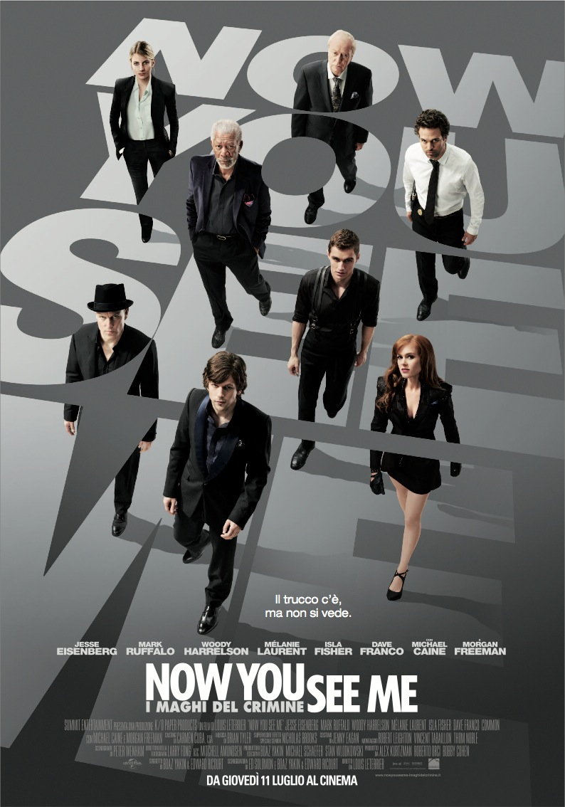 Now You See Me  Now You See Me   I Maghi Del Crimine Streaming Film (2013)