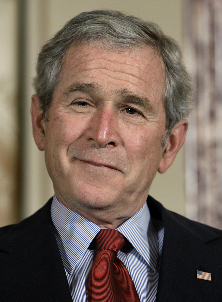 George W. Bush's popularity grows in the United States ... George Bush