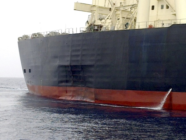What Nearly Punched A Hole In This Japanese Oil Tanker?