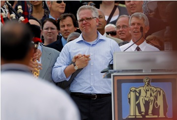 Glenn Beck at Saturday's 'Restoring Honor' rally