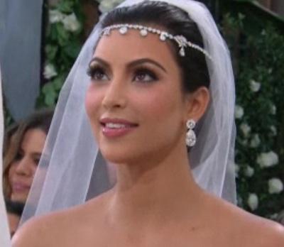E Not surprisingly the dramaprone Kim Kardashian 39s wedding day wasn 39t