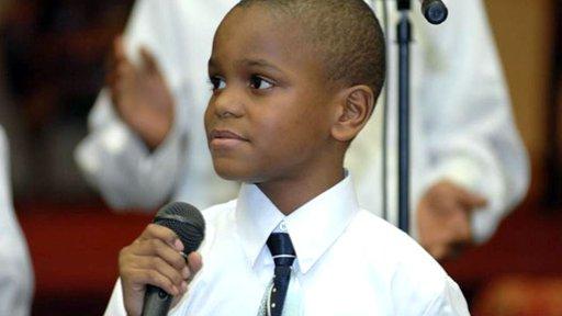 Ezekiel Stoddard, un líder religioso de 11 años