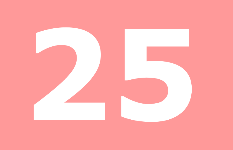 25 en nmeros - photo #12